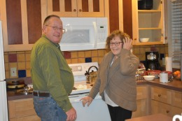The cooks (grandpa+ grandma)