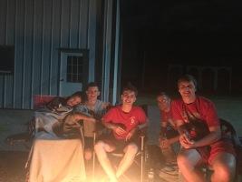 the boys in hammocks